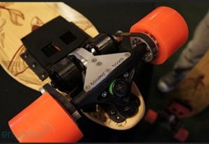 boosted board mount