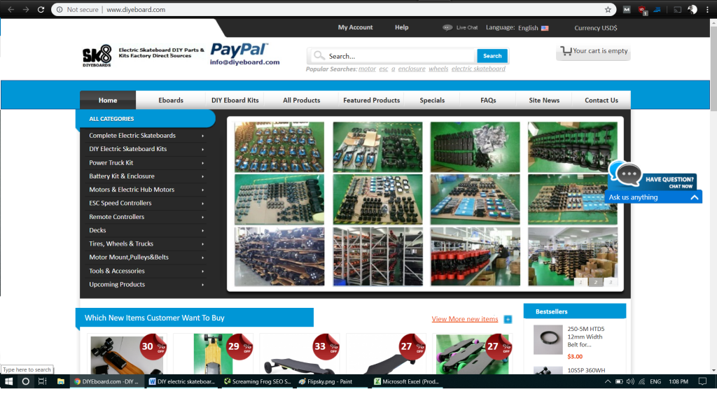 Supplier of Electronic Skateboard Kits and Parts 3