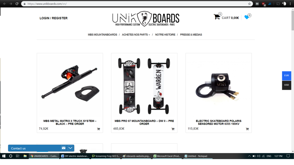 Supplier of Electronic Skateboard Kits and Parts 7